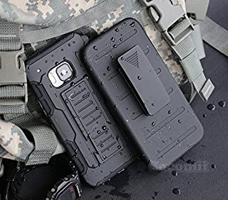 Cocomii Robot Armor HTC 10 Case New [Heavy Duty] Premium Belt Clip Holster Kickstand Shockproof Hard Bumper Shell [Military Defender] Full Body Dual Layer Rugged Cover for HTC 10 (R.Black)