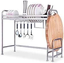 XXT stal szlachetna Multi-Layer-Rack regał kuchenny regał magazynowy deska ociekowa (rozmiar: L)