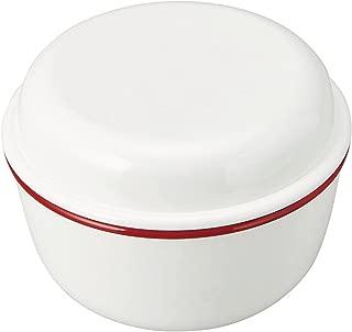 竹中 日本製 お弁当箱 レトロモーダ ランチボウル レッド 580ml T-66409