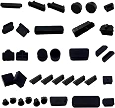 LAMPVPATH 36 PCS Anti-dust Plugs Computer Port Dust Plugs, 19 Types of Computer Laptop Port Dust Covers Stoppers for Computer PC Laptop(36 PCS in 19 Types)