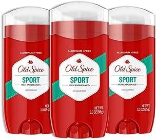 دئودورانت رایگان آلومینیوم Old Spice for Men، High Endurance Sport، 3 Oz، بسته 3