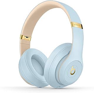 BeatsStudio3Wireless con cancelación de ruido - Auriculares supraaurales - Chip Apple W1, Bluetooth de Clase1, cancelación activa del ruido, 22horas de sonido ininterrumpido - Azul Cristal