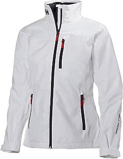 Helly Hansen Women's Crew Lightweight Waterproof Windproof Breathable Sailing Rain Coat Jacket
