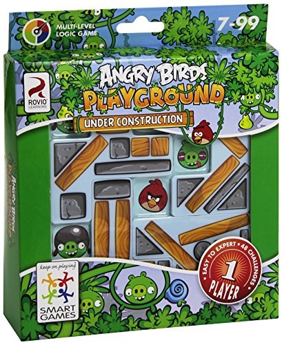 smart games SGAB470 - Angry Birds Playground Under Construction