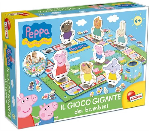 Toyland – Playset Peppa Pig (Lisciani Giochi) (Version en Italien)