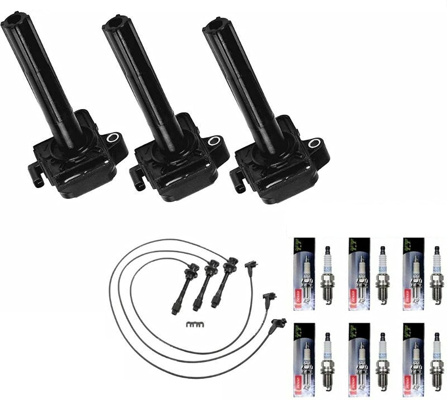 Sale price Phoenix Mall MCK 3pcs Ignition Coil Pack And Spark Platinum Wire Plug Se With