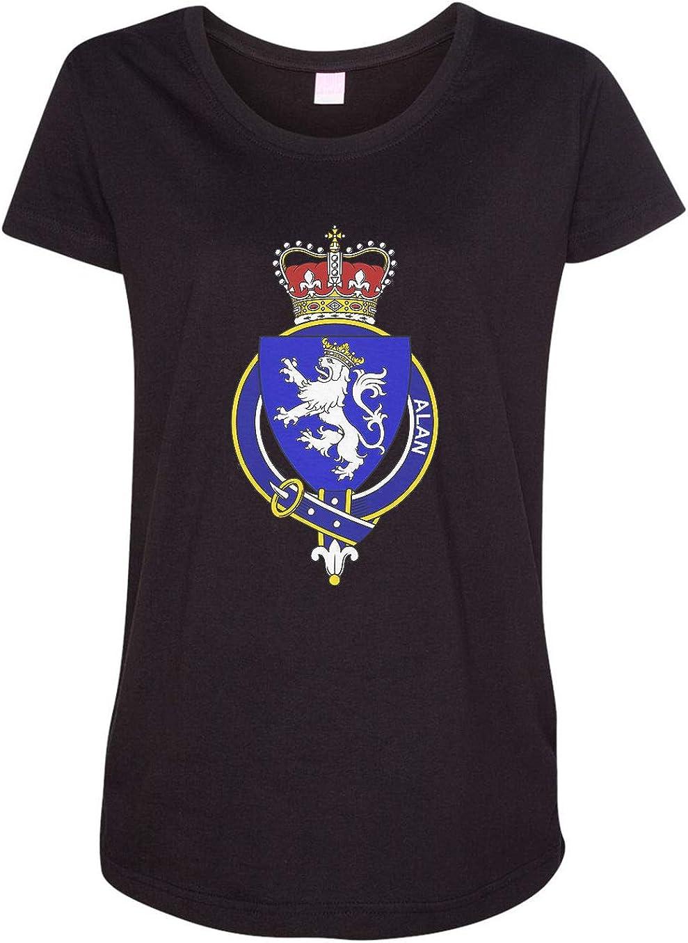HARD EDGE DESIGN Women's Scottish Garter Family Alan T-Shirt
