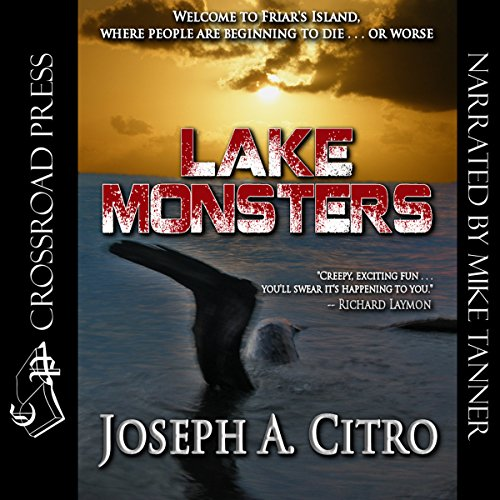 Lake Monsters audiobook cover art