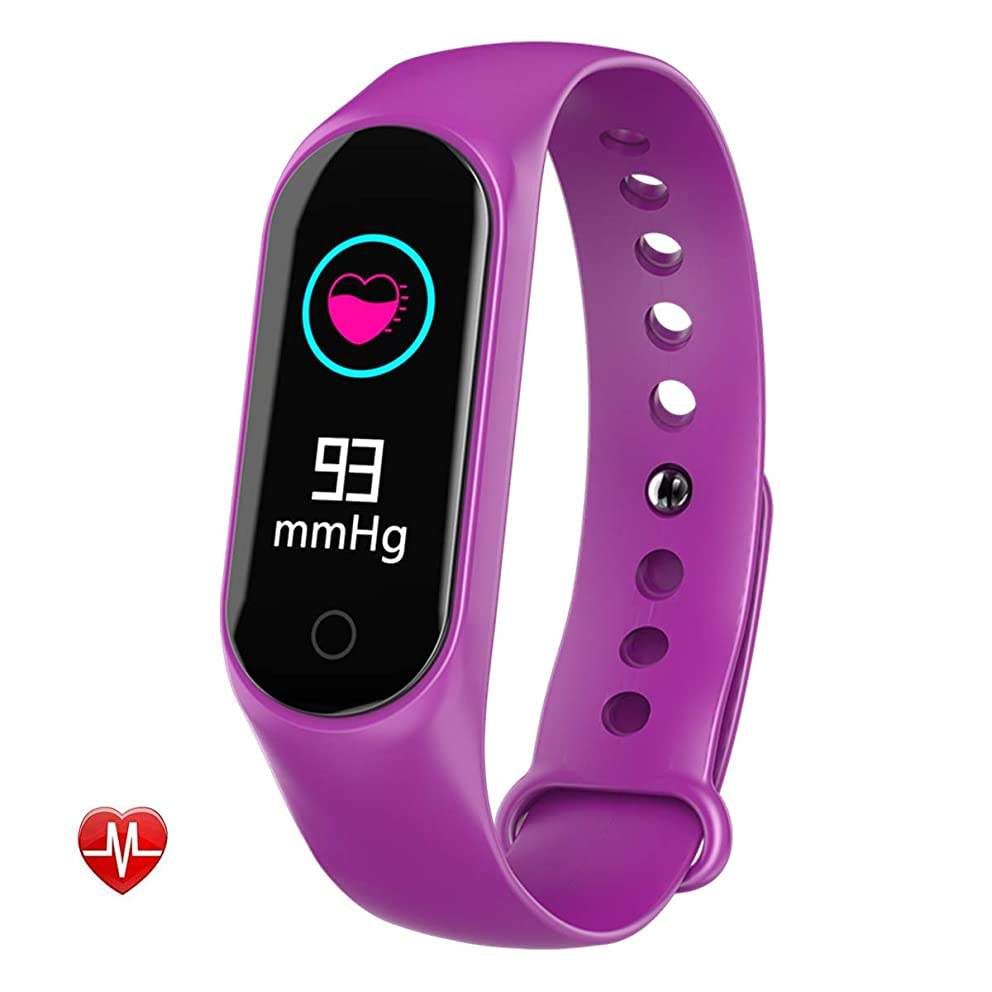 Fitness Tracker Ip67 Waterproof Heart Rate Blood Pressure Sleep Monitoring Compatible with Android and iOS System for Outdoor Travel Climbing