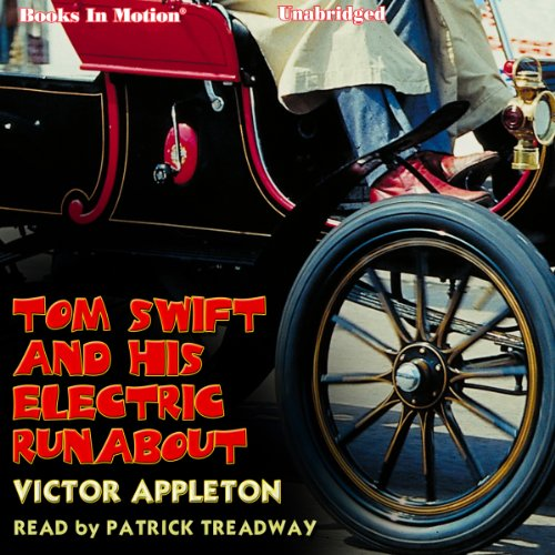 Tom Swift and His Electric Runabout cover art