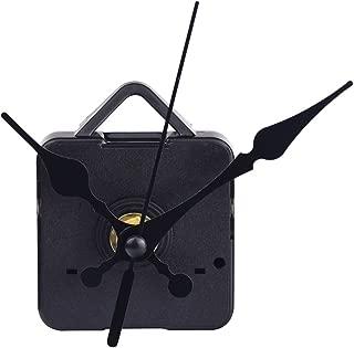 Mudder Quartz Clock Movements Mechanism Parts, 3/25 Inch Maximum Dial Thickness, 1/2 Inch Total Shaft Length