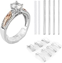 Coopache Invisible Ring Size Adjuster 2 Styles for Loose Rings – Ring Guard, Ring Sizer, 13 Sizes Fit Almost Any Ring
