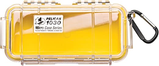 Pelican 1030 Micro Case (Yellow/Clear)
