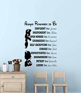 Best Design Amazing Disney Princess Wall Quotes-Disney Signs-Disney Princess Wall Art-Disney Princess Wall Decals & Murals-Wall Decor-Wall Words-Wall Sayings Made in USA!