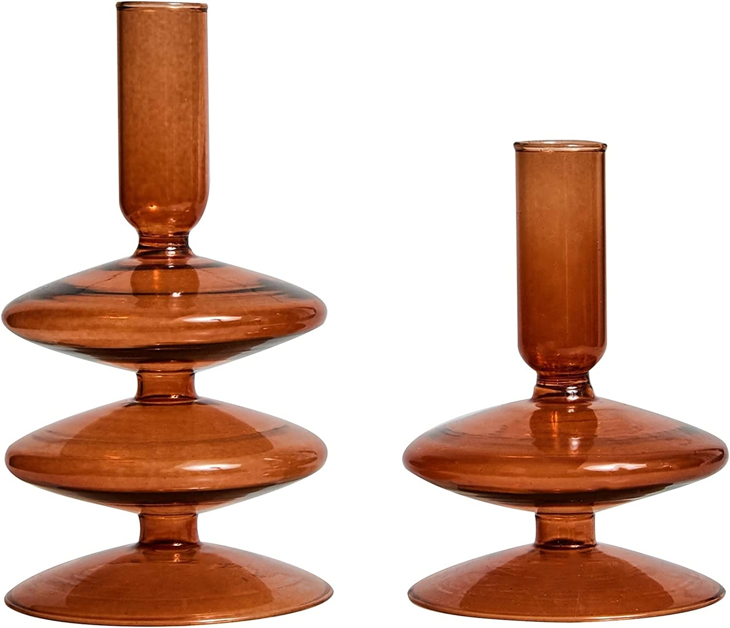 JQDMBH Candlestick Holder Milwaukee Mall Candle Set Ho 2 of Luxury Taper