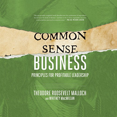 Common-Sense Business audiobook cover art