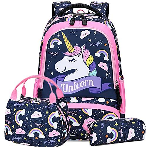 Mochila Unicornio Niña Infantil Mochilas Escolares Estudiantes