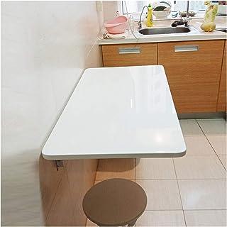 GHHZZQ 2021 Table Murale Rabattable Table Pliante Suspendue Étagère de Rangement de Cuisine Table À Gain de Place Parfaite...