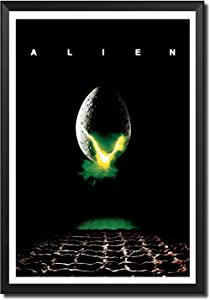 Sci-Fi Horror Movie Poster Alien Canvas Wall Art Picture Canvas Prints for Home Decoration Modern Living Room Art Bedroom Office Decor (16x24inchs(40x60cm))
