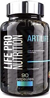 Life Pro Artilife 90 Cápsulas | Suplemento Mejora Salud Articular. Protege Articulaciones. Evita Molestias y Lesiones. Beneficios Antiinflamatorios. con Vitamina C. Condroitina. MSN y Glucosamina