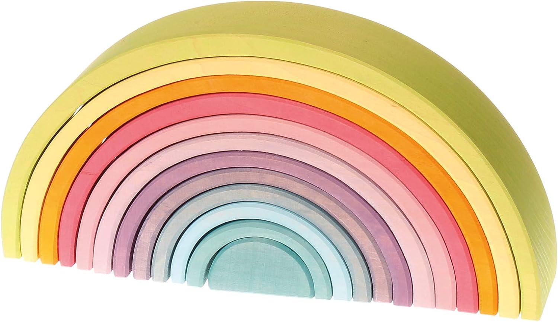Grimm's Regenbogen 12-teilig Pastell B01CHCMR5Y Lebhaft und liebenswert | Großer Verkauf