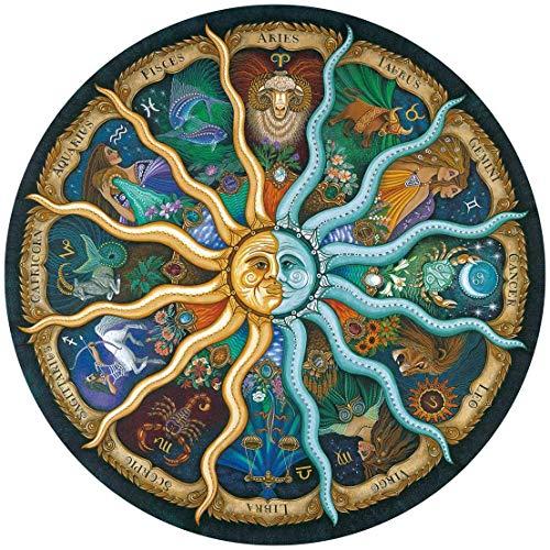 Ingooood - Rompecabezas para adultos, 500 piezas, rompecabezas de horóscopo del zodiaco, rompecabezas de constelación, regalo de graduación