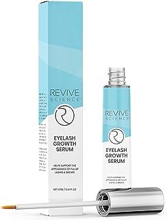 Eyelash Growth Serum & Eyebrow Enhancer - Biotin, Vitamin E & Collagen - Rapid Growth Serum for Thicker & Longer Lashes - for Men and Women, 4ML / 0.14 FL OZ (4 ml)