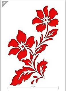Best flower pattern stencil Reviews