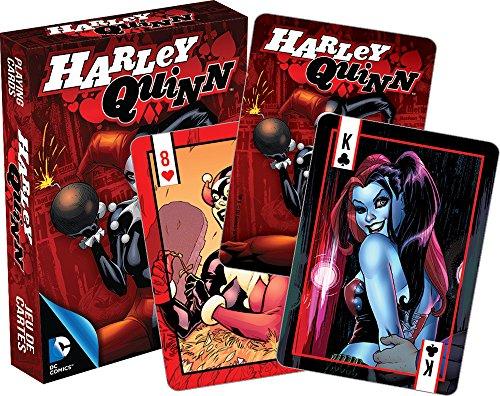 AQUARIUS DC Comics Harley Quinn Spielkarten (rote Box) (nm)