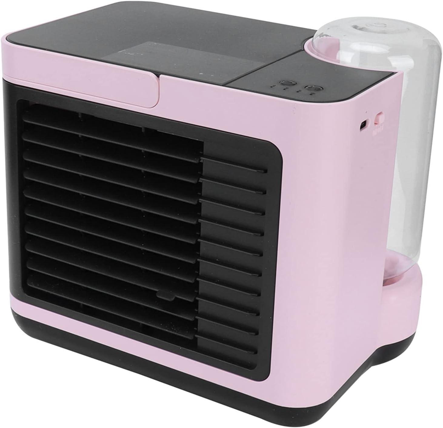 Mini Attention brand USB Max 59% OFF Desk Fan Negative Adjustable Ion P Air Conditioner