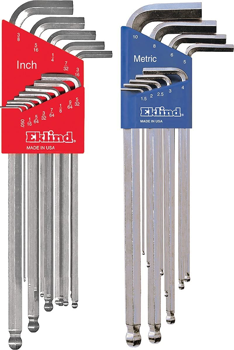 EKLIND 17322 Bright Inexpensive Ball-Hex L-Key Combo- Extra wrench Special Campaign allen Lon