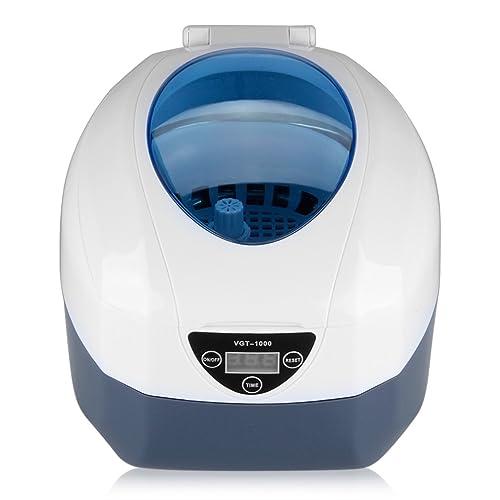 Excelvan Appareil Nettoyeur à Ultrasons pour Bijoux CD Lunettes Bracelet Cosmétique Outils de Laboratoire Instruments Accessoires et etc (750ml)