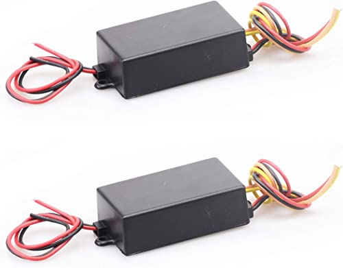 high quality Mallofusa lowest Universal Car Tail LED Light 3-Step Sequential Dynamic Chase Flash Module Boxes Controller for Front Rear Turn high quality Signal Light Retrofit Use(2PCS 12V) online