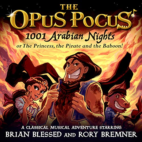 1001 Arabian Nights: or The Princess, the Pirate and the Baboon! audiobook cover art