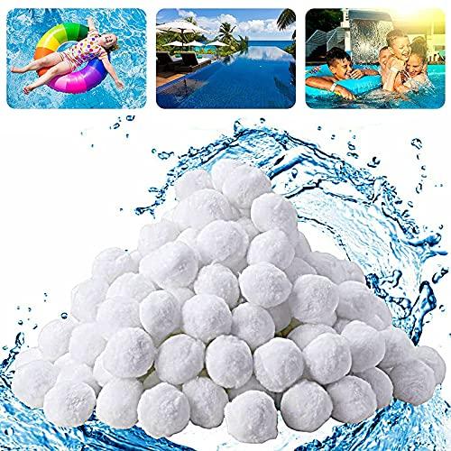 Youpin Filter Balls 700g, Filterbälle für Pool, Sandfilteranlage Alternative für 25kg Filtersand Zubehör Ersatz Poolfilter Filteranlage für Schwimmbad, Filterpumpe, Umweltfreundlicher & Langlebig