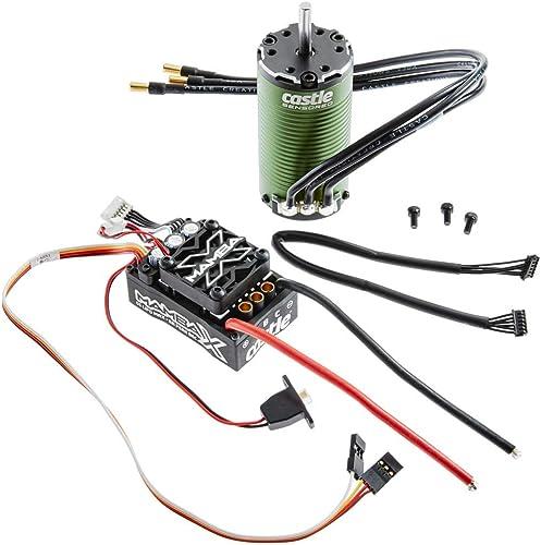 Entrega directa y rápida de fábrica Castle Castle Castle Creations Mamba X SCT Sensorojo 25.2V WP ESC & 1415-2400Kv Combo  conveniente