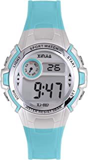 Kids Digital Watch for Boys Girls,Children 50M(5ATM) Waterproof Sports Outdoor LED Multi Functional Wrist Watches with Alarm for Children