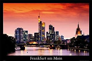 Deutsche Städte - Frankfurt am Main - Skyline Städte City