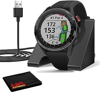 $509 » Garmin Approach S62 GPS Golf Watch (Black Bezel/Black Band) w/Virtual Caddie,Mapping Includes Charging Base