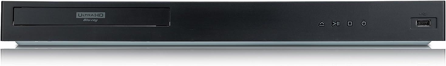 LG UBK80 Reproductor BLU-Ray Ultra HD 4K HDR con