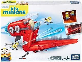 Mega Construx Minions Supervillain Jet  White