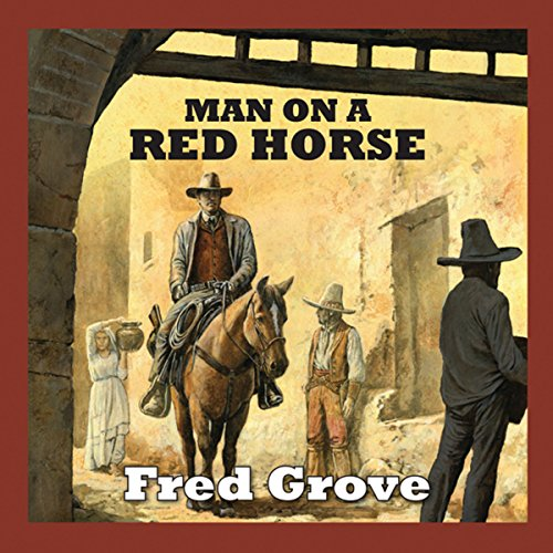 Man on a Red Horse audiobook cover art