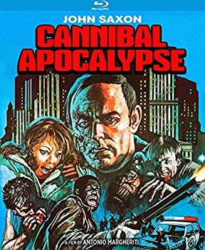 Cannibal Apocalypse - aka Cannibal in the Streets | Invasion of the Flesh Hunters [Blu-ray]
