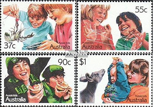 Australie mer.-no.: 1055-1058 (complète.Edition.) 1987 Enfants (Timbres pour Les collectionneurs)