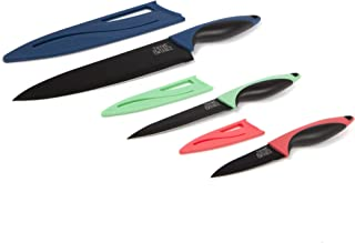Thyme and Table 3-Piece Colored Chef Knife Set