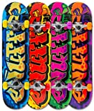 Enuff Mini Graffiti II Yellow Skateboard - 7.5 inch