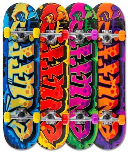 Enuff Mini Graffiti II Yellow Skateboard - 7.5 inch