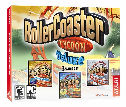RollerCoaster Tycoon Deluxe: RollerCoaster Tycoon / Loopy Landscapes / Corkscrew Follies by Atari