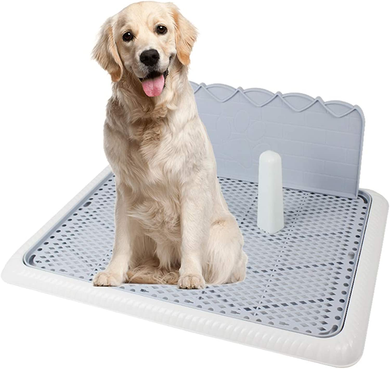 AZBYC domestico Dog Potty Pet Loo Grill con Colon Wall, Pet Toilet, Middle e Small Toilet per Cani, 65 48; 21 cm