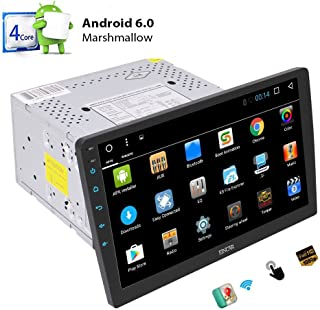 Quad Core Android 6.0 System Car Stereo with 10.1 '' Adjustable Viewing Touch Screen Double Din Head Unit in Dash GPS Navi...